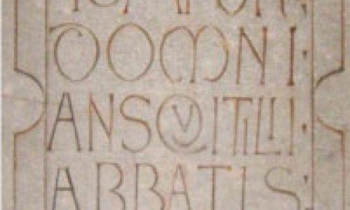 """""""Lo material y lo visual. Actualidad de la epigrafía medieval"""""""