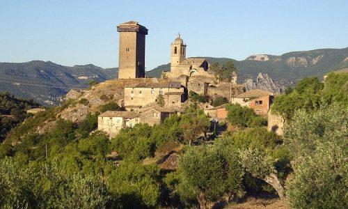 Arquitectura románica defensiva en Huesca: el Castillo de Abizanda.