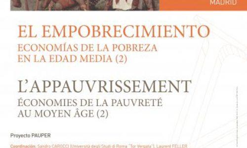 El empobrecimiento economías de la pobreza en la edad media (2)